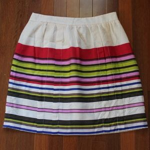 LOFT Size 4 Striped Skirt